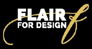 Flair For Design Logo Reverse